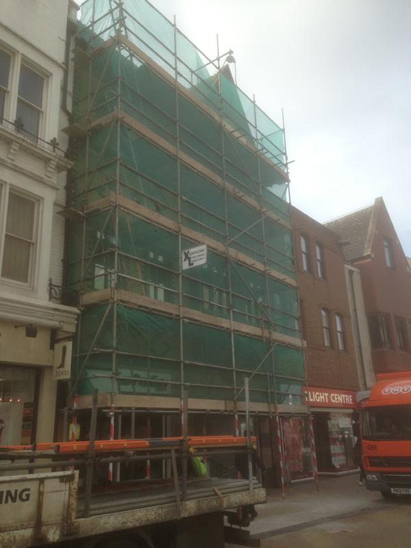 scaffolding in oxford